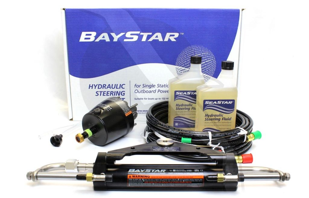 Baystar Hydraulic Steering Kit HK4200A-3 Review & Installation Guide
